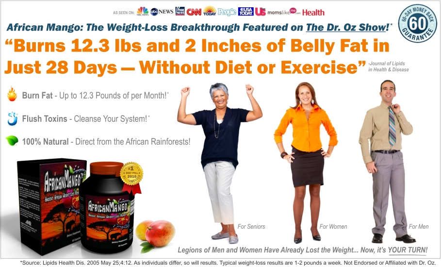 African Mango® | OFFICIAL SITE | Subjects Lost 8.9 Pounds ...