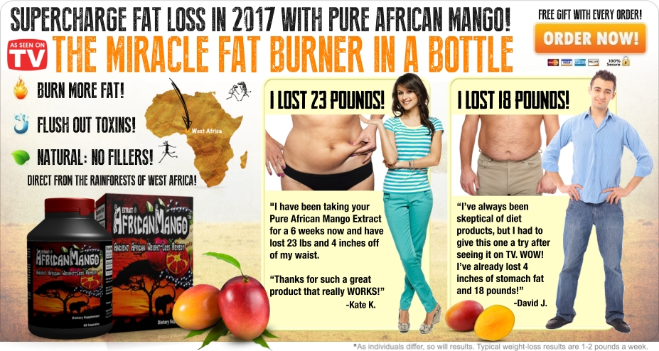 The African Mango Secret- Lose 8 pounds in just 28 days